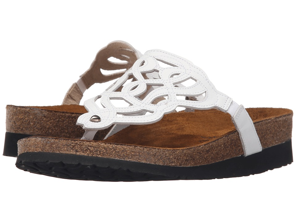Naot Footwear - Barbados (White Leather) Women's Sandals