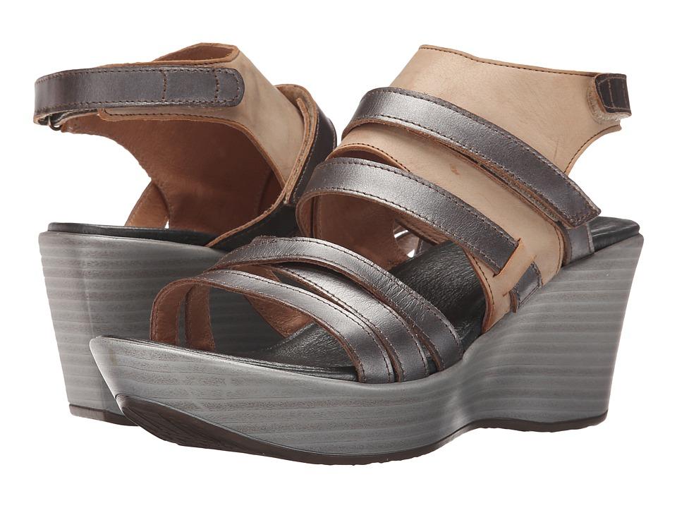 Naot Footwear - Prestige (Mirror Leather/Biscuit Leather) High Heels