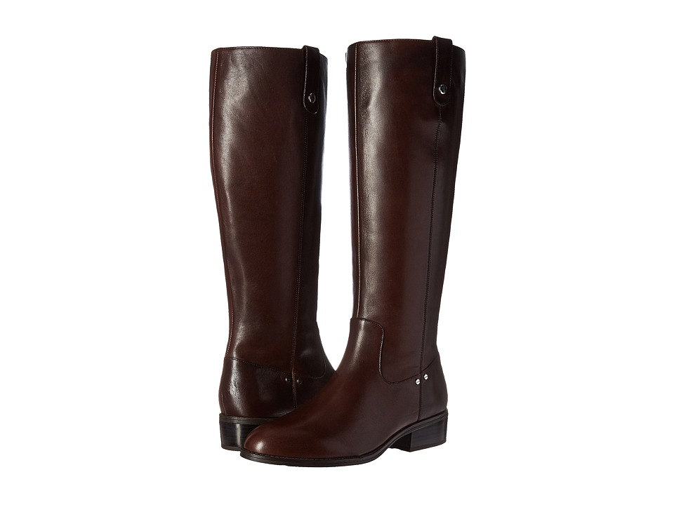 LAUREN Ralph Lauren Masika (Dark Brown Burnished Calf) Women
