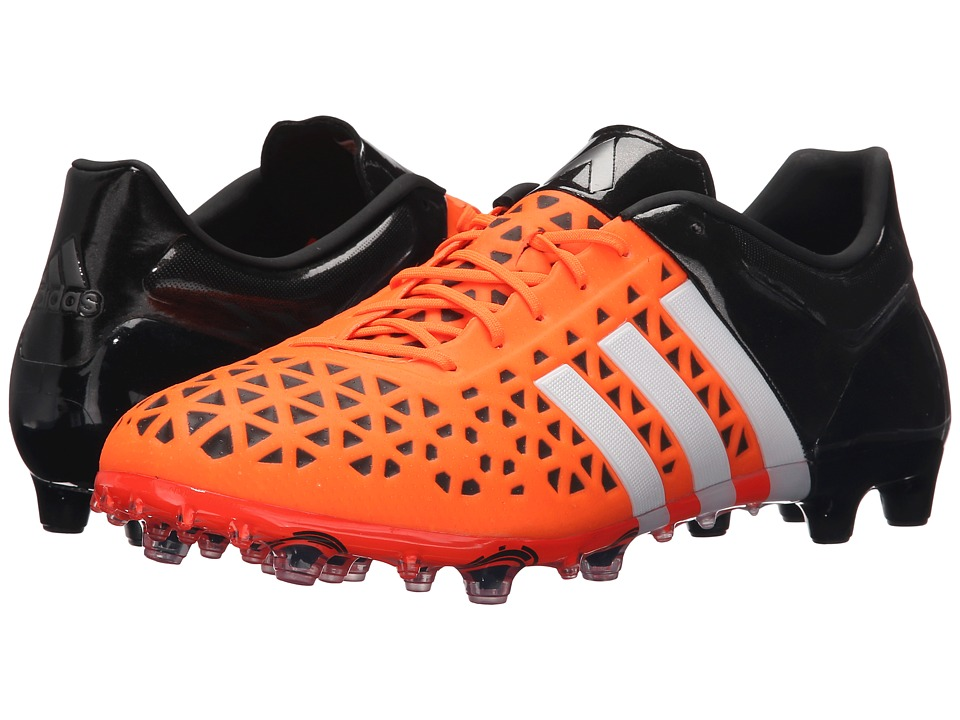 adidas - Ace 15.1 FG/AG (Orange/White/Black) Men's Shoes