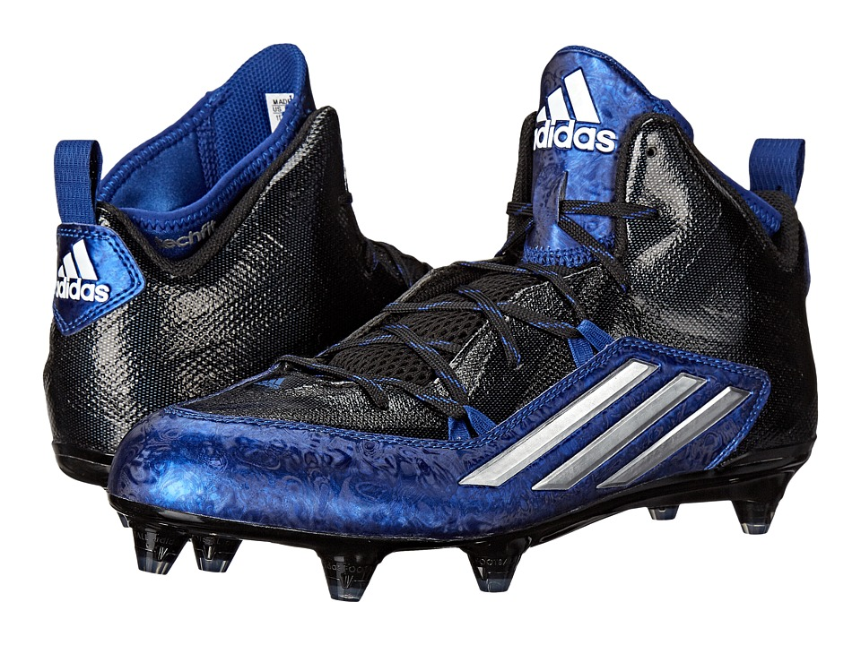 adidas - Crazyquick 2.0 Mid D (Black/Gold/Royal) Men's Shoes