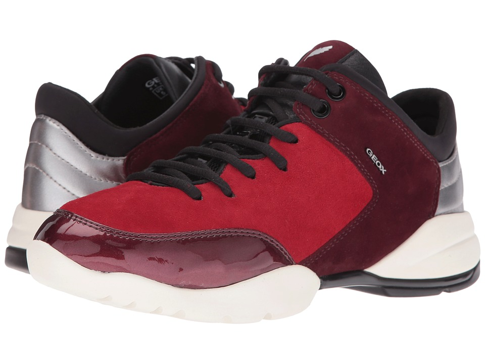 Geox - WSFINGE4 (Dark Red/Dark Burgundy) Women's Shoes