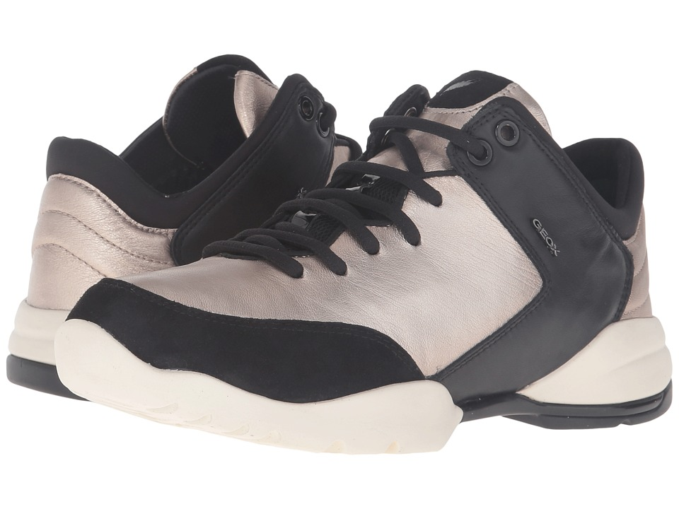 Geox - WSFINGE3 (Champagne/Black) Women's Shoes