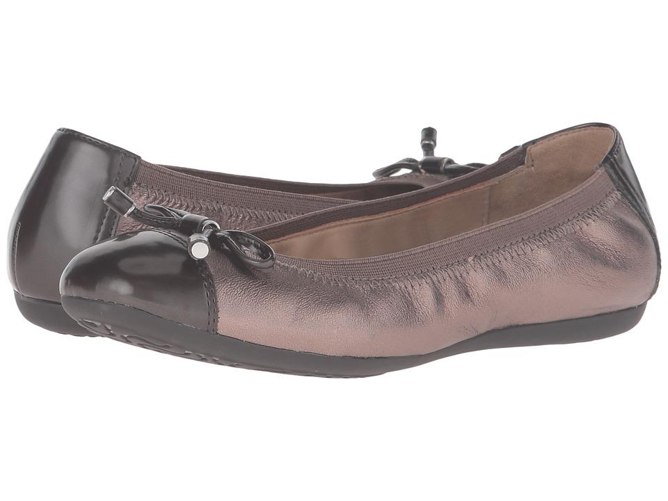 Geox - WLOLA2FIT2 (Lead/Chestnut) Women's Shoes