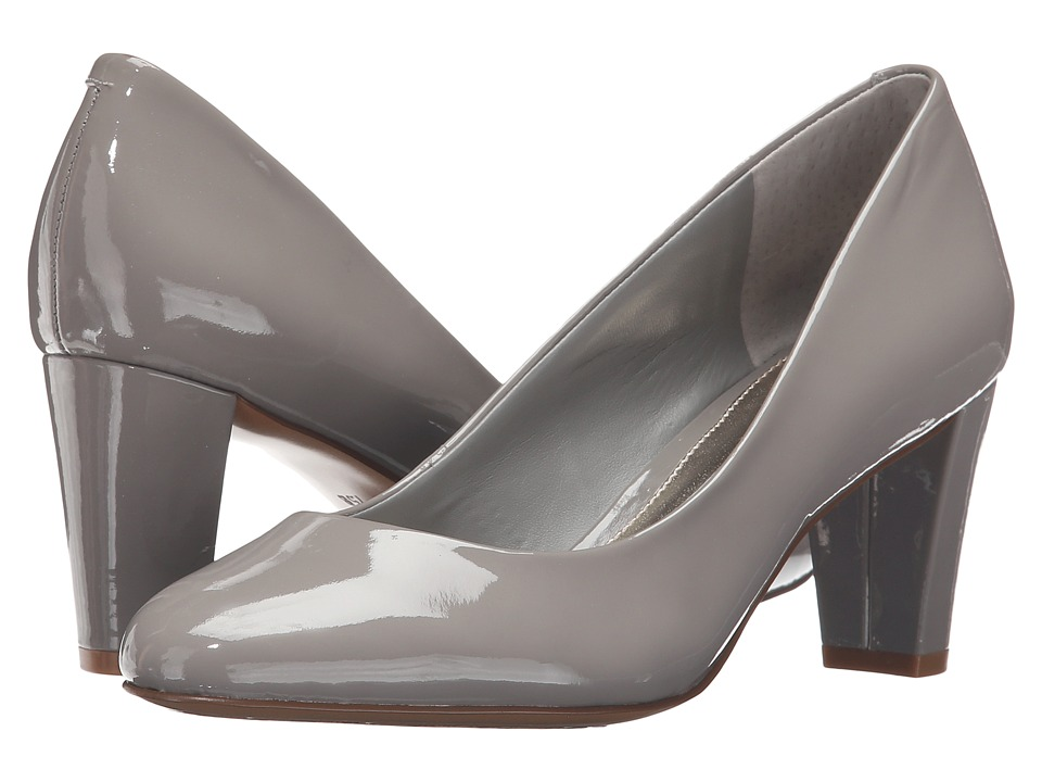 LAUREN Ralph Lauren - Hala (Stone Patent Leather) Women's Shoes