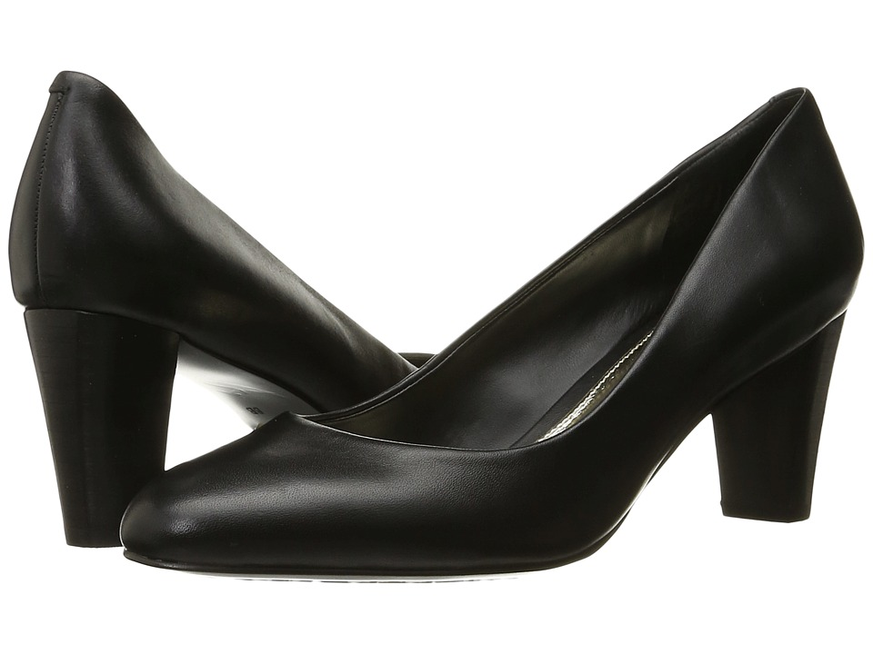 LAUREN Ralph Lauren - Hala (Black Signature Burnished Calf) Women's Shoes