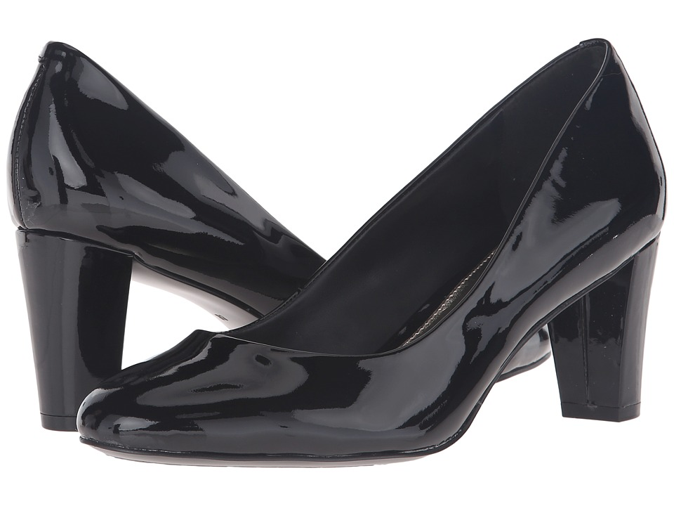 LAUREN Ralph Lauren - Hala (Black Patent Leather) Women's Shoes