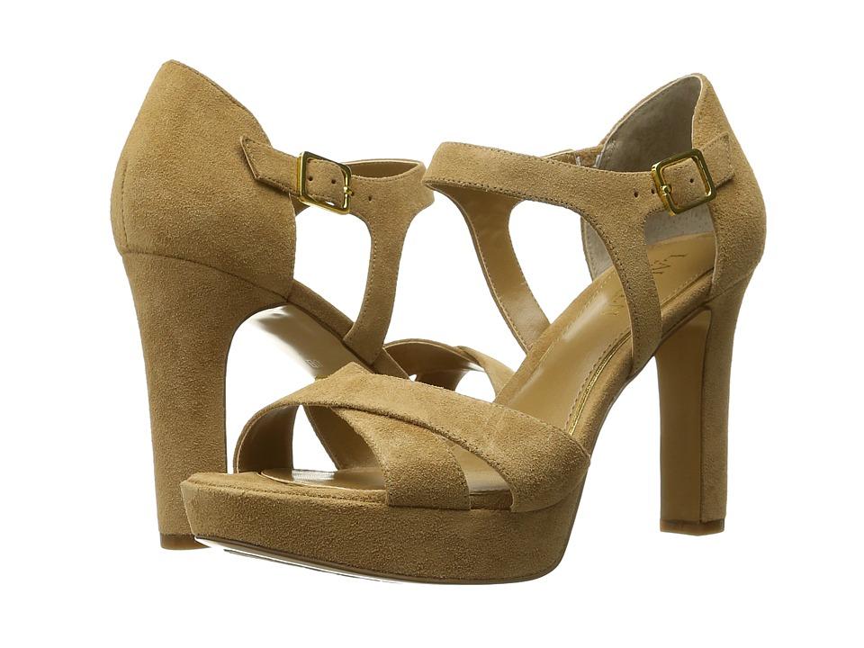 LAUREN Ralph Lauren - Senica (Camel Sport Suede) Women's Shoes