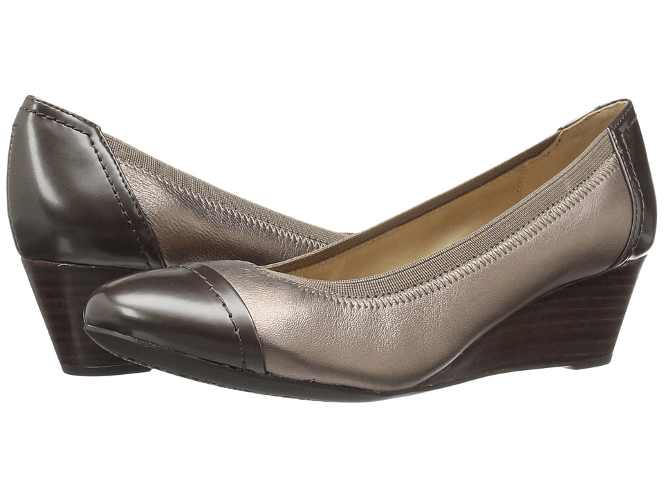 Geox - WFLORALIE25 (Lead/Chestnut) Women's Shoes