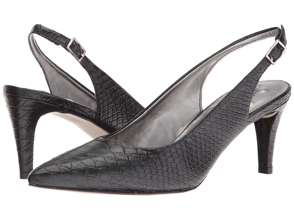 Walking Cradles - Sidney (Black Belly Snake MM) Women's Shoes