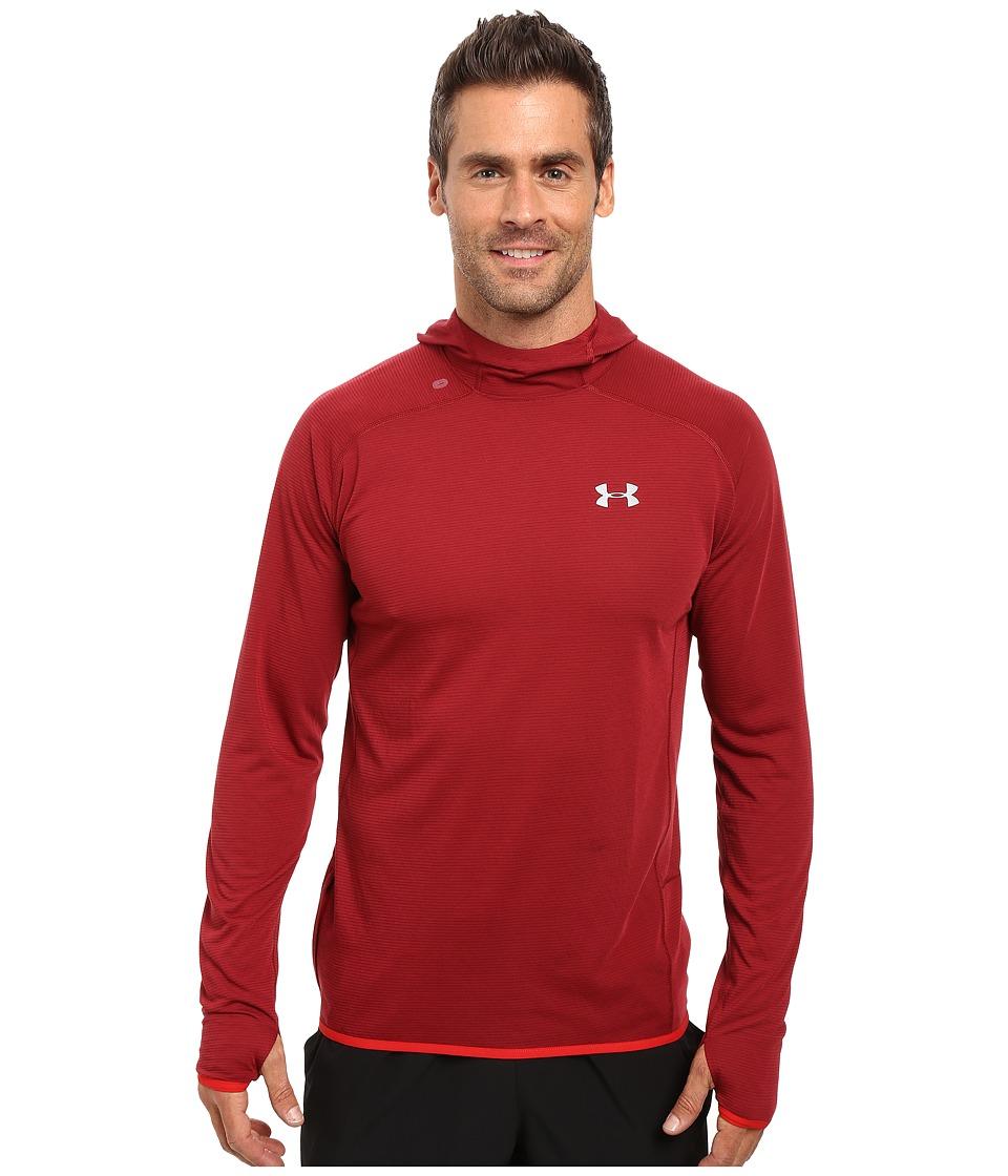 Under Armour - UA Streaker Pullover Hoodie (Cardinal/Cardinal) Men's Sweatshirt