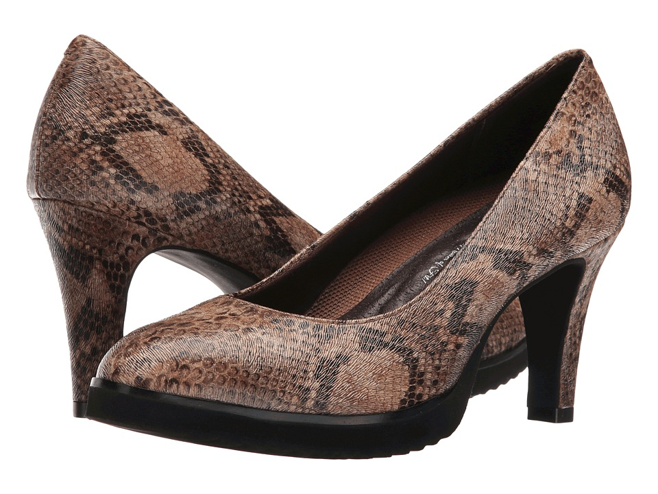 Walking Cradles - Tiger (Brown Python Cadence MM) Women's Shoes
