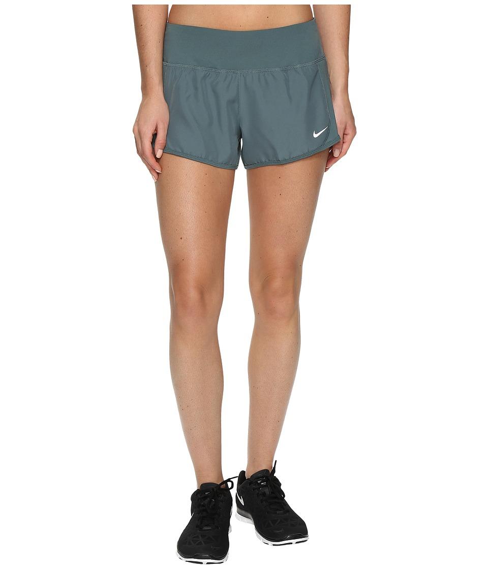 Nike Crew Shorts (Hasta/Hasta/Reflective Silver) Women