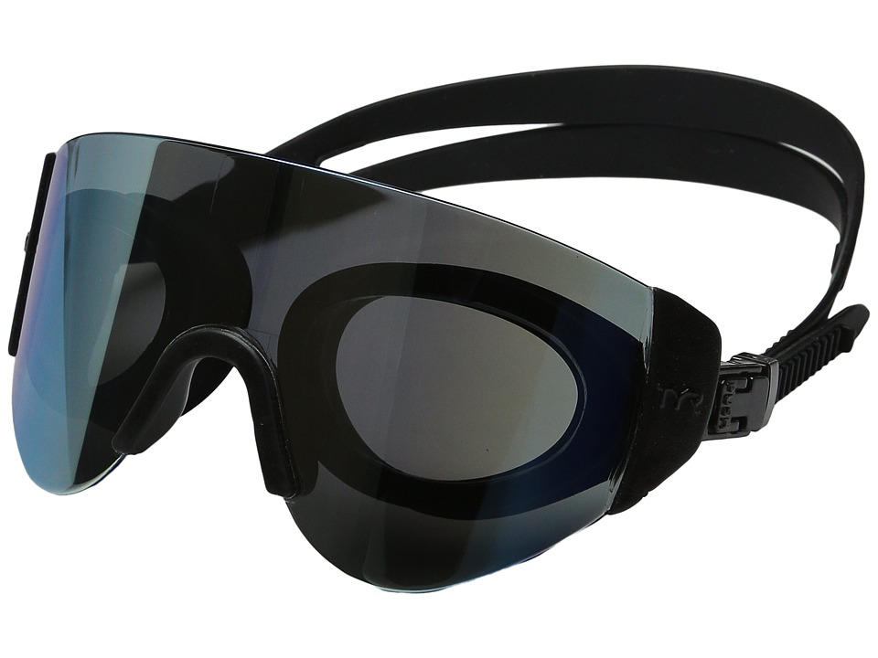 TYR - Renegade Swimshades Mirrored Swimshades (Gold/Black/Black) Fashion Sunglasses