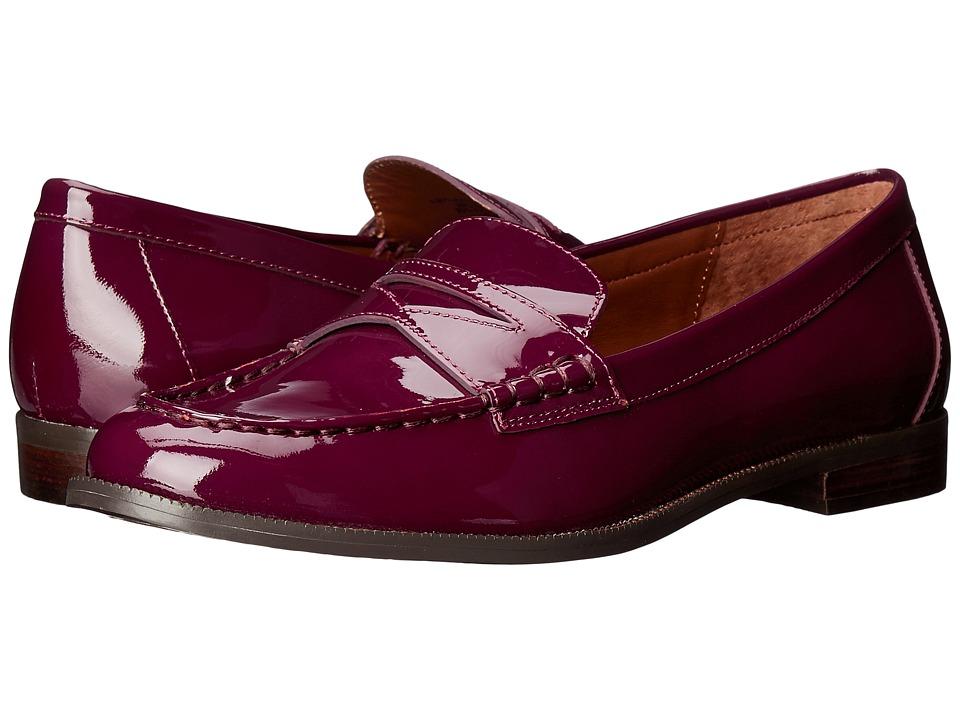 LAUREN Ralph Lauren Barrett (Claret Patent Leather) Women