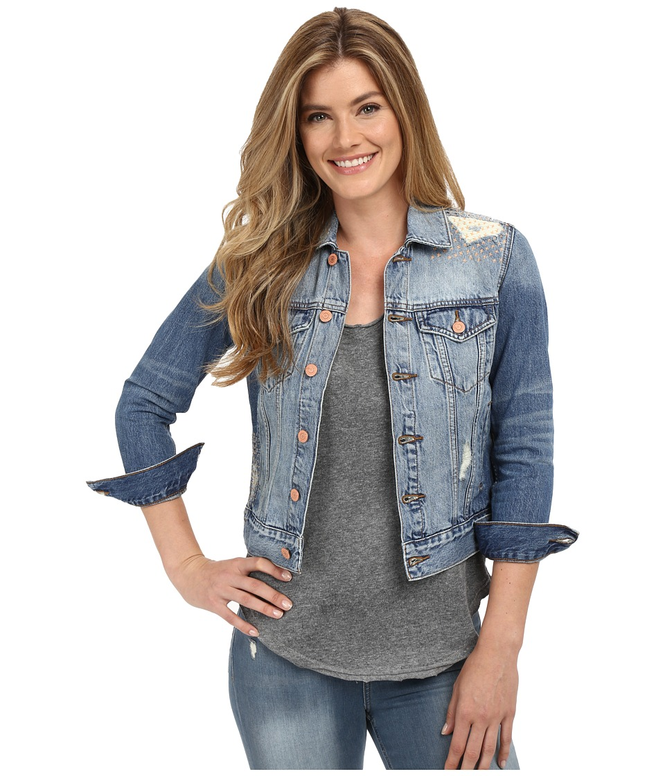 Lucky Brand - Classic Denim Jacket (Firebaugh) Women's Coat