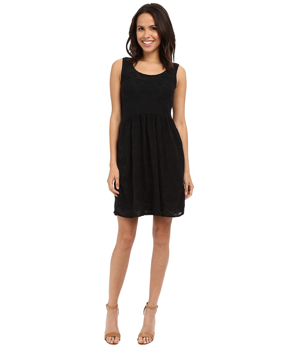 Lucky Brand - Eyelet Dress (Lucky Black) Women's Dress