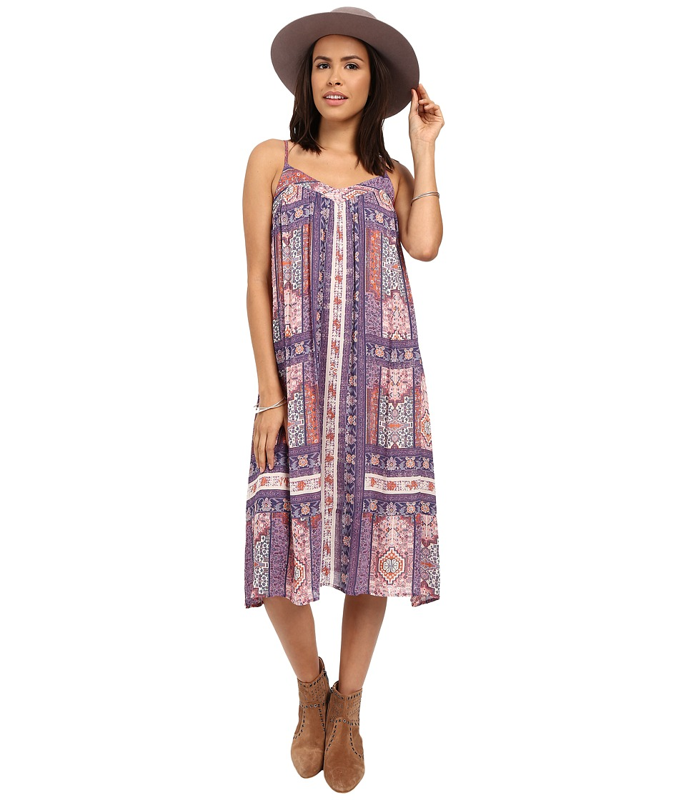 Lucky Brand Tapestry Print Dress (Pink Multi) Women