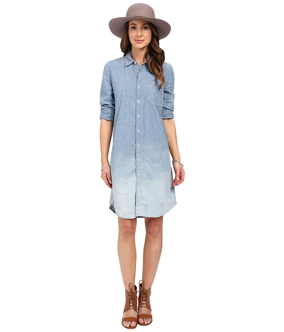 Lucky Brand - Dip Dye Shirtdress (Point Arena Dip Dye) Women's Dress