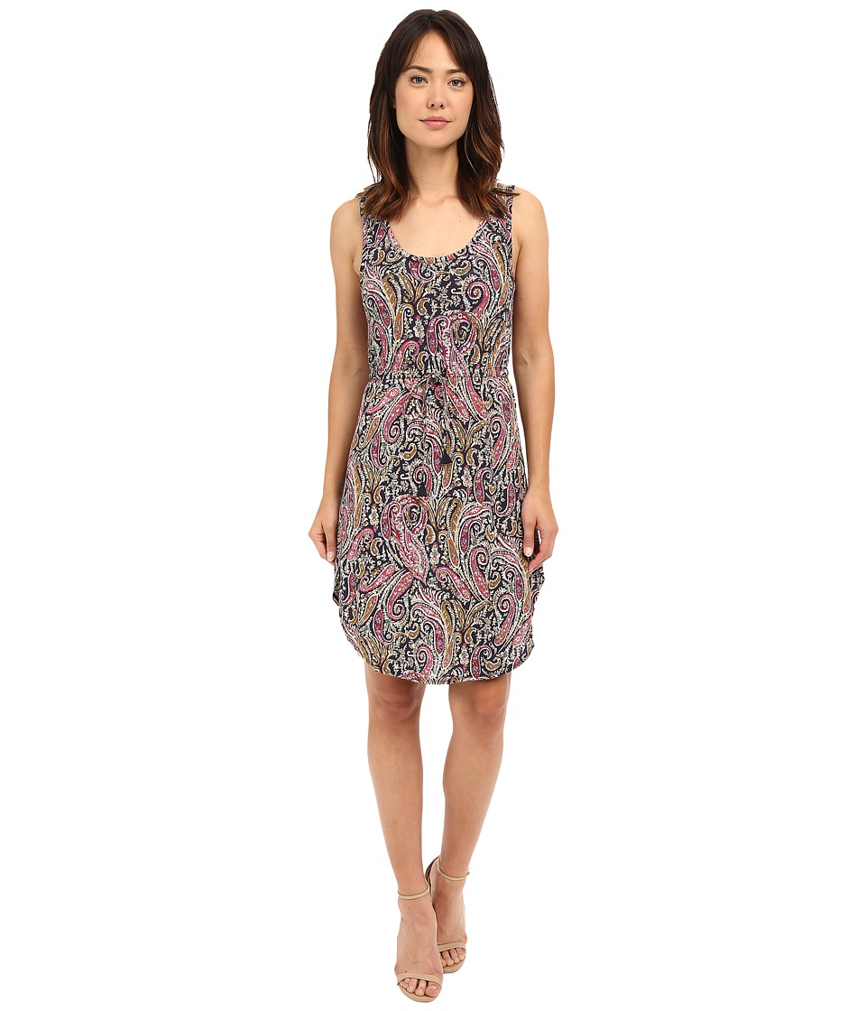 Lucky Brand - Paisley Printed Dress (Multi) Women's Dress