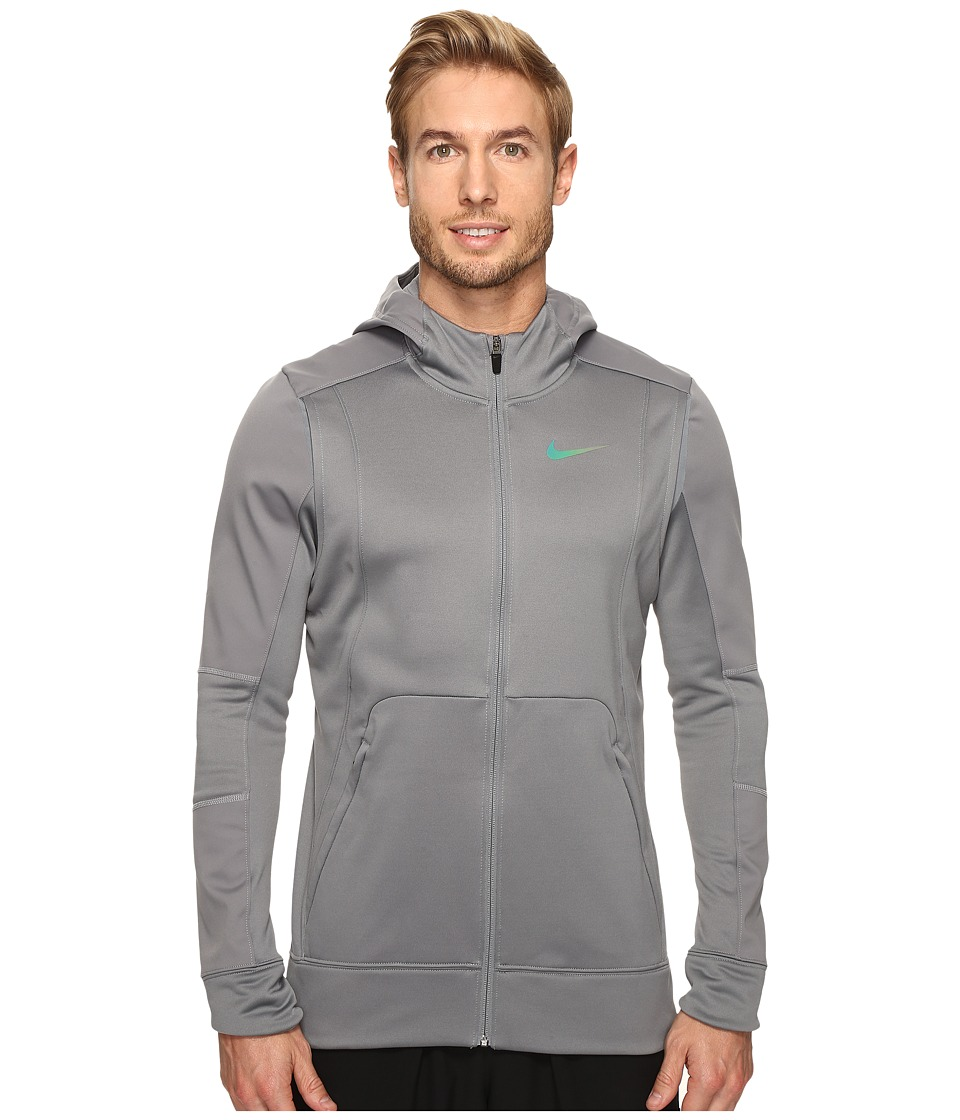 Nike Therma Hyper Elite Basketball Hoodie (Dark Steel Grey/Iridescent) Men