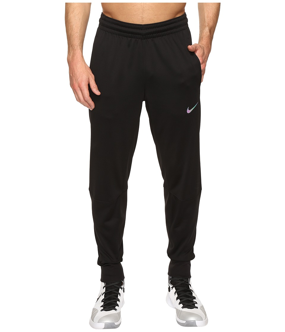 Nike - Therma Hyper Elite Basketball Pant (Black/Iridescent) Men's Casual Pants