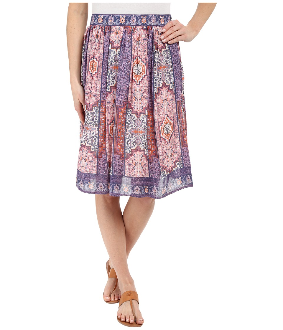 Lucky Brand - Tapestry Print Skirt (Pink Multi) Women's Skirt