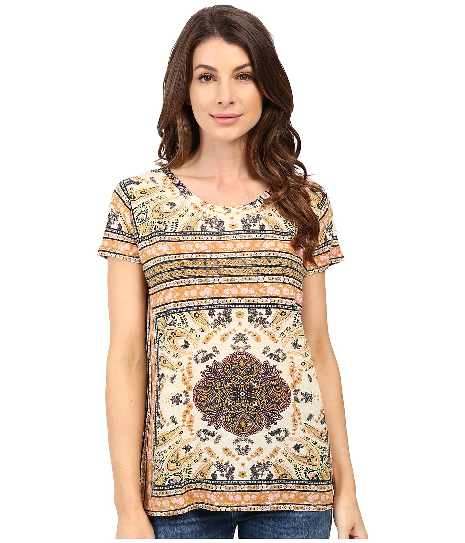 Lucky Brand Printed Tee (Multi) Women