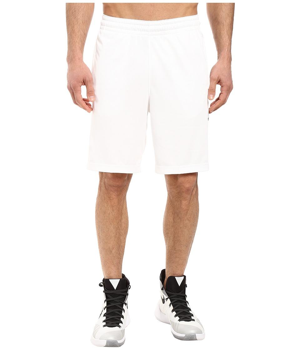 Nike - Elite Stripe Short (White/Black/Wolf Grey/Black) Men's Shorts