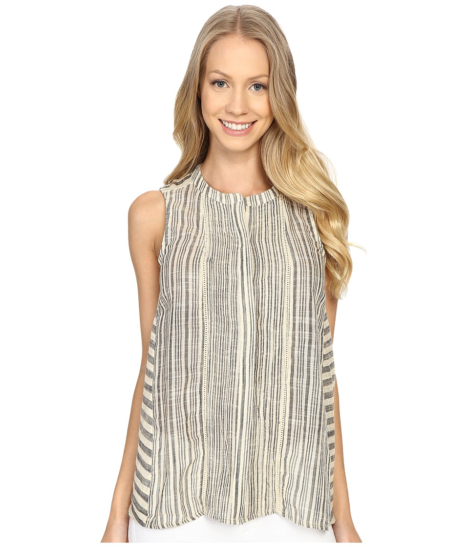 Lucky Brand - Stripe Tank Top (Black Multi) Women's Sleeveless