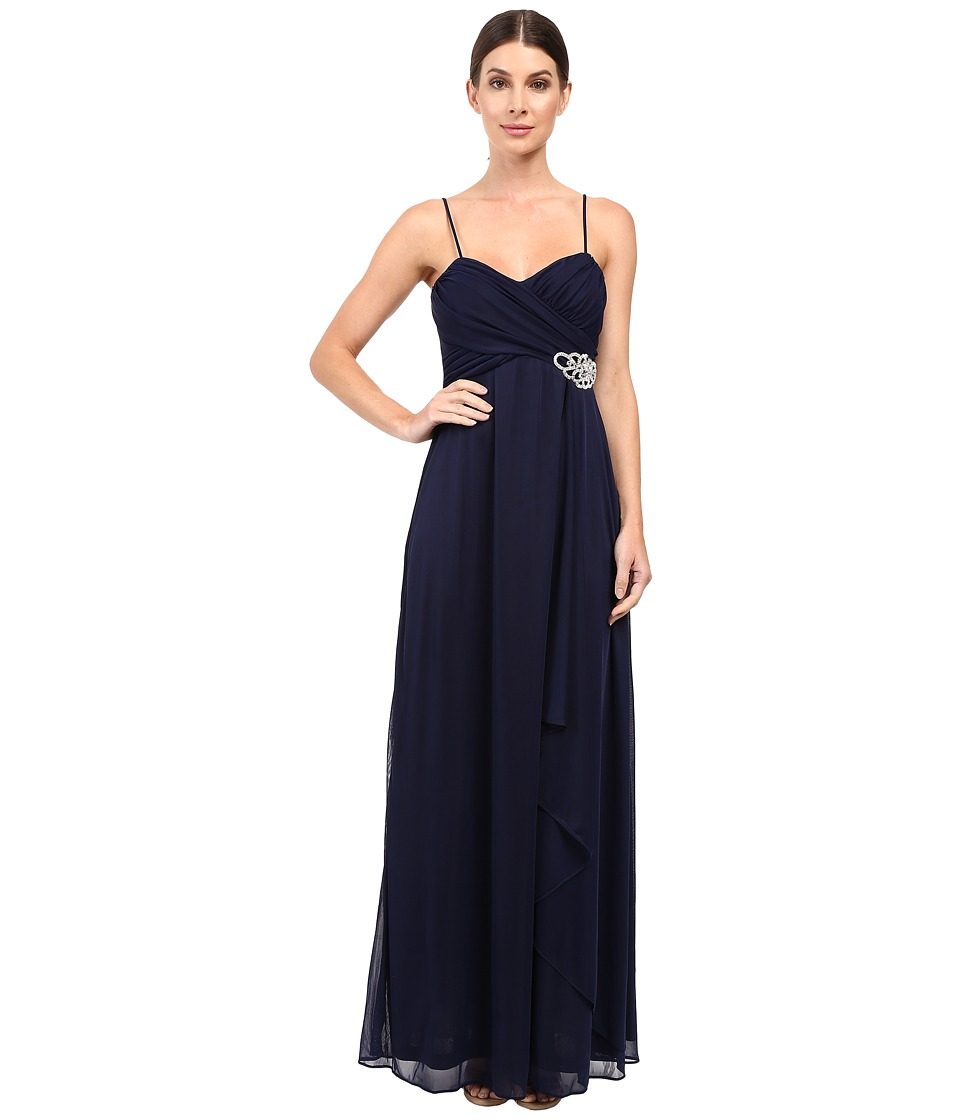 rsvp Radelle Long Dress (Navy) Women
