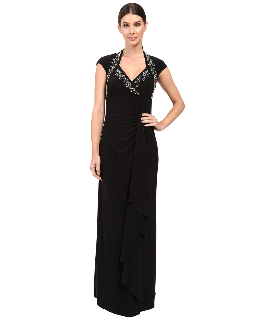 rsvp - Plaisance Dress (Black) Women's Dress