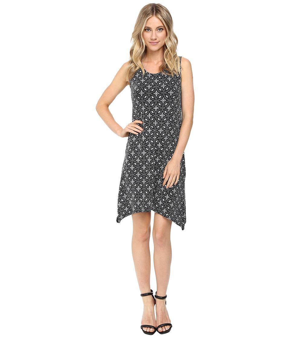 rsvp - Megane Glitter Dress (Black/Silver) Women's Dress