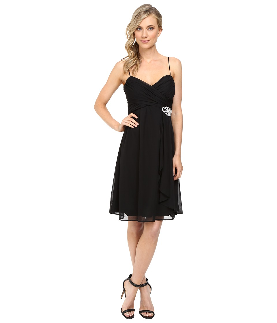 rsvp Mathilde Short Dress (Black) Women