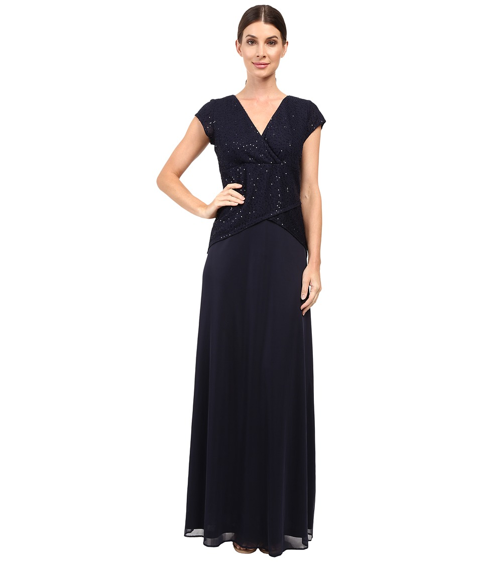 rsvp - Marielle Knit Dress (Navy) Women's Dress