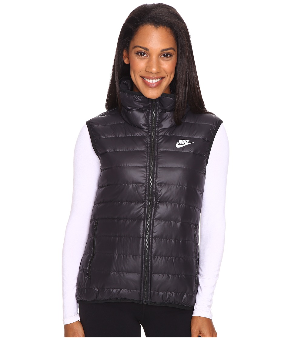 Nike - Sportswear Down Fill Vest (Black/Black/White) Women's Vest