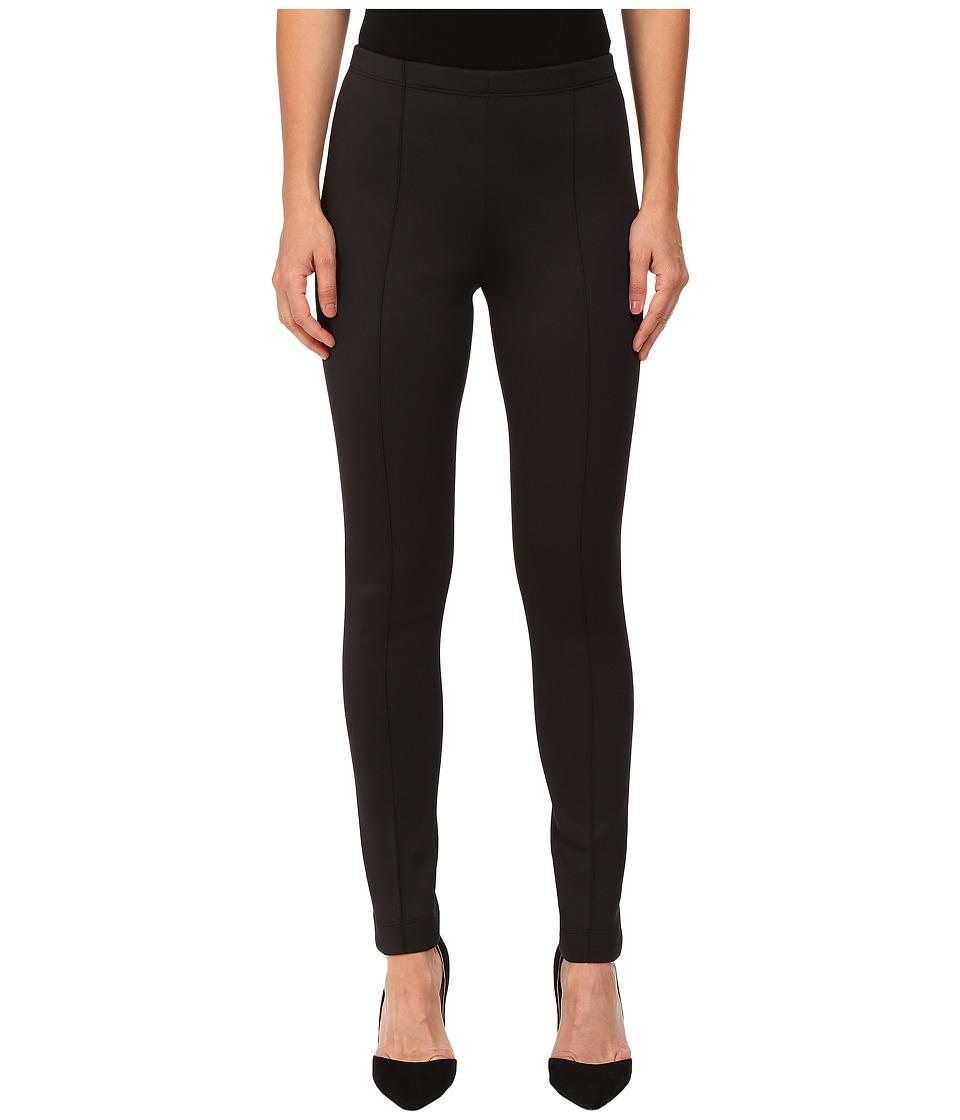 YIGAL AZROUEL Scuba Leggings (Black) Women's Casual Pants