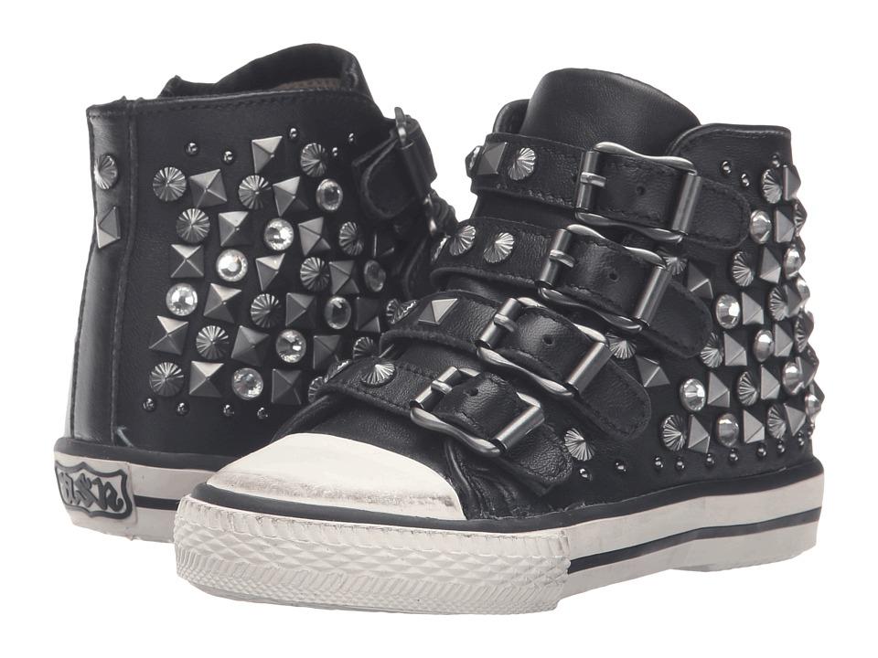 ASH Kids - Viper (Toddler/Little Kid) (Black) Girl's Shoes