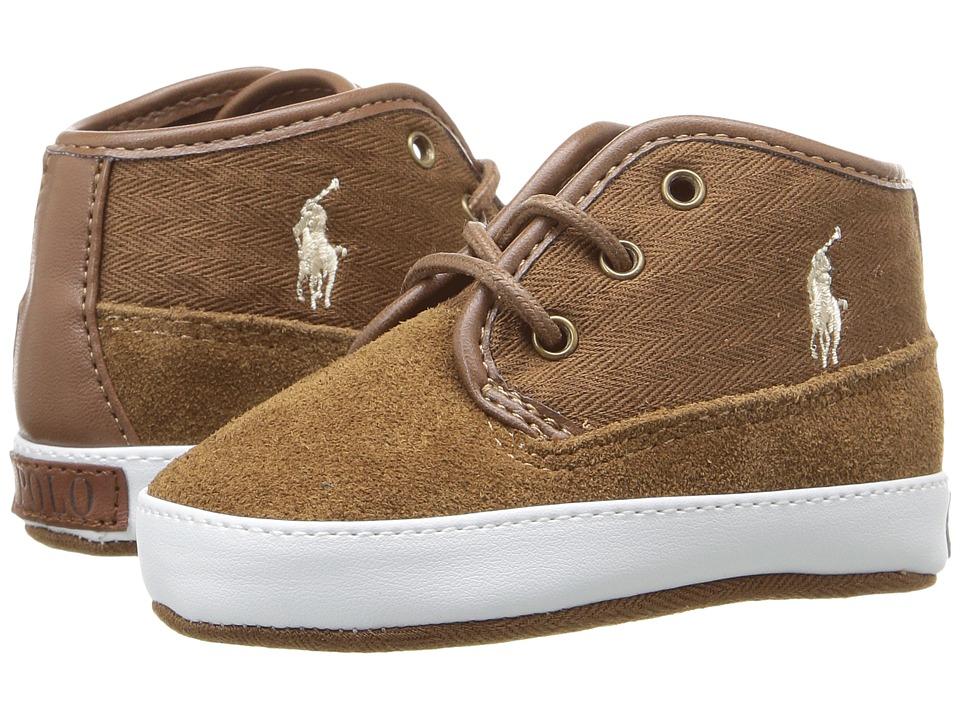 Polo Ralph Lauren Kids - Waylon Mid (Infant/Toddler) (Snuff) Boy's Shoes