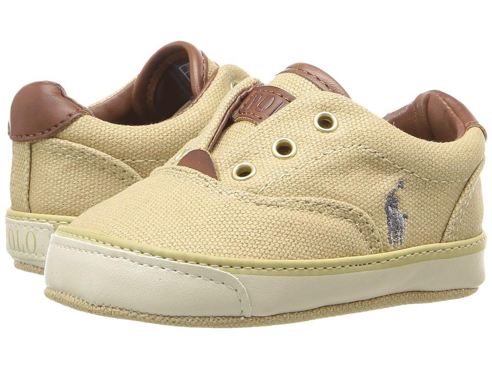Polo Ralph Lauren Kids - Vito (Infant/Toddler) (Khaki) Boy's Shoes