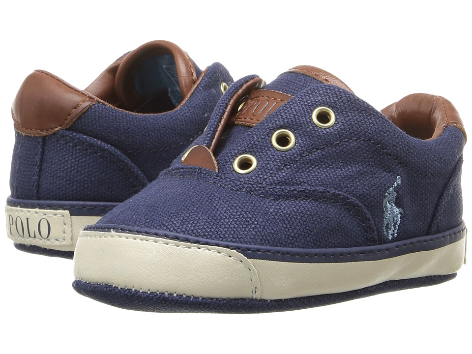 Polo Ralph Lauren Kids - Vito (Infant/Toddler) (Navy) Boy's Shoes