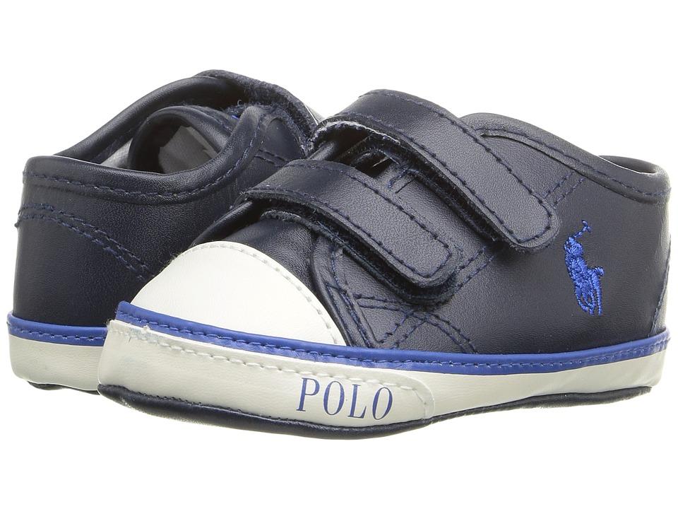 Polo Ralph Lauren Kids - Daymond EZ (Infant/Toddler) (Navy) Boy's Shoes