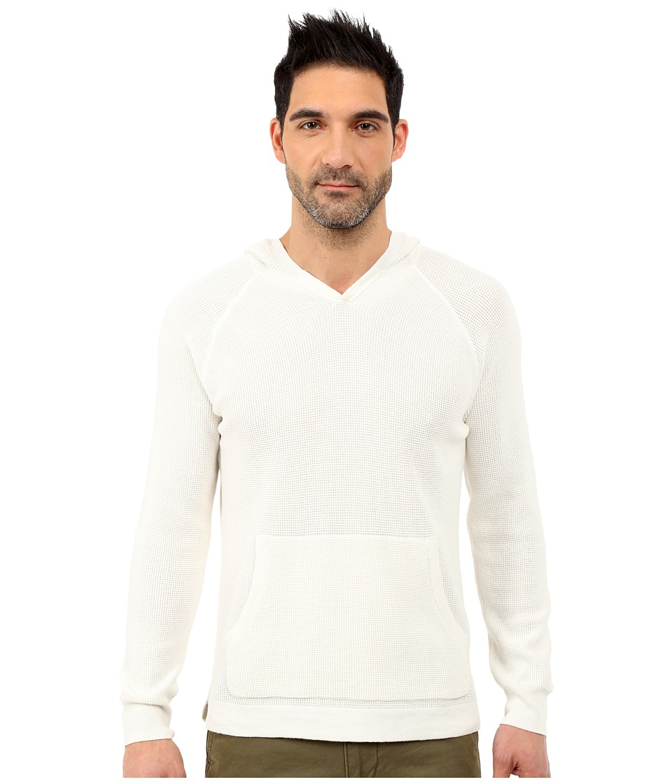 Lucky Brand - Core Hood Sweater (Marshmallow) Men's Sweater
