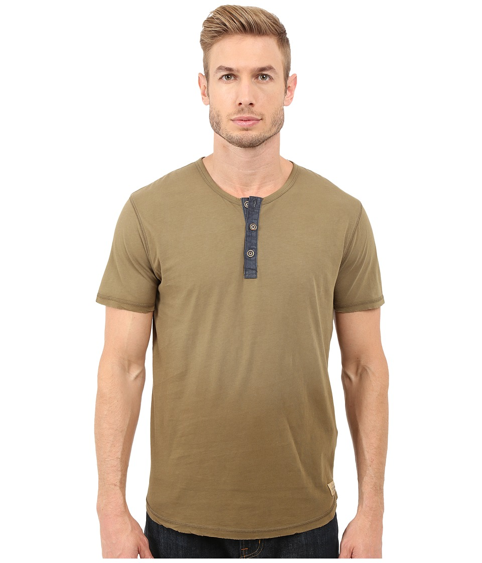 Lucky Brand Kings Canyon Henley (Military Olive) Men