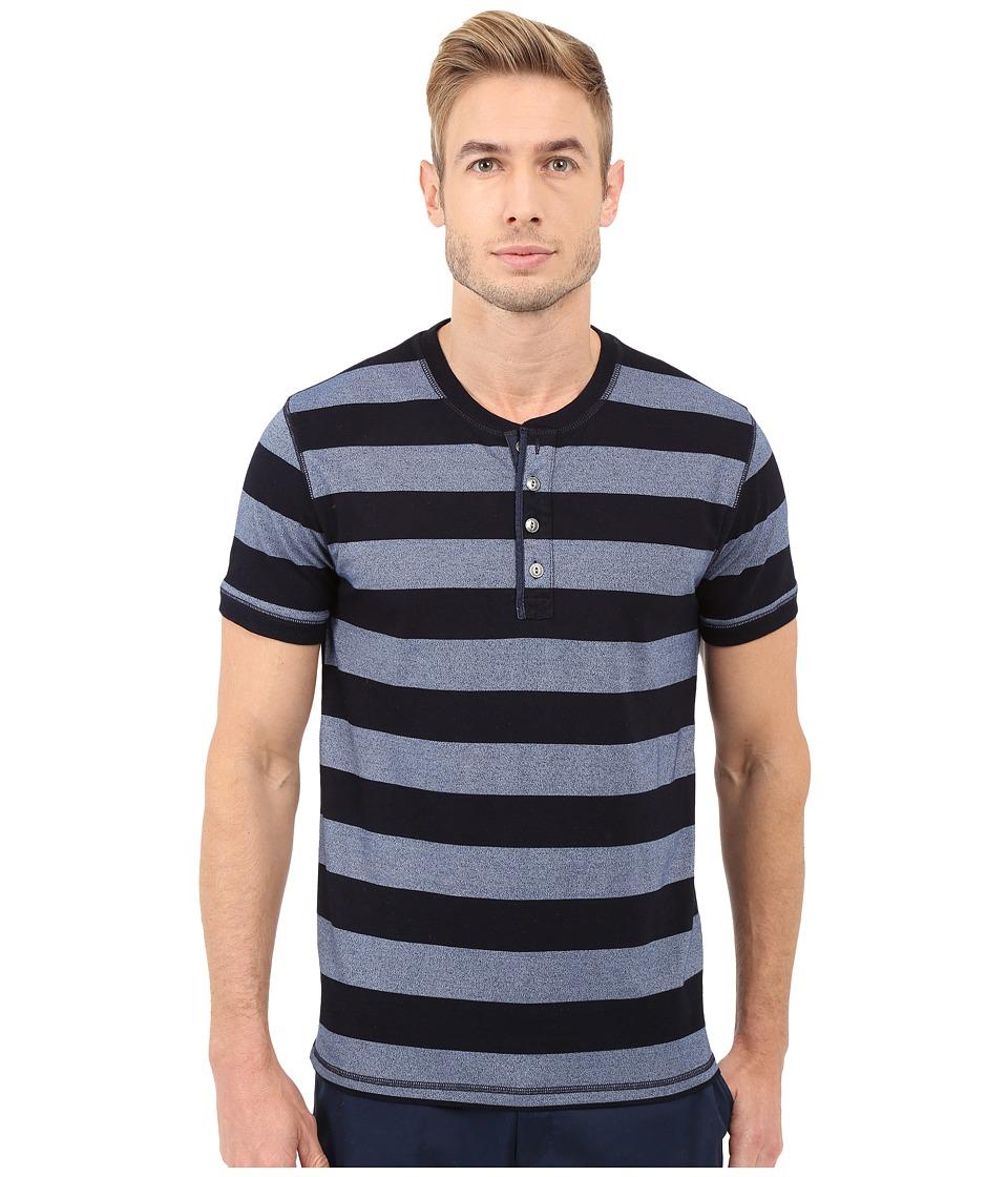 Lucky Brand - Mocktwist Stripe Henley (Multi) Men's Clothing