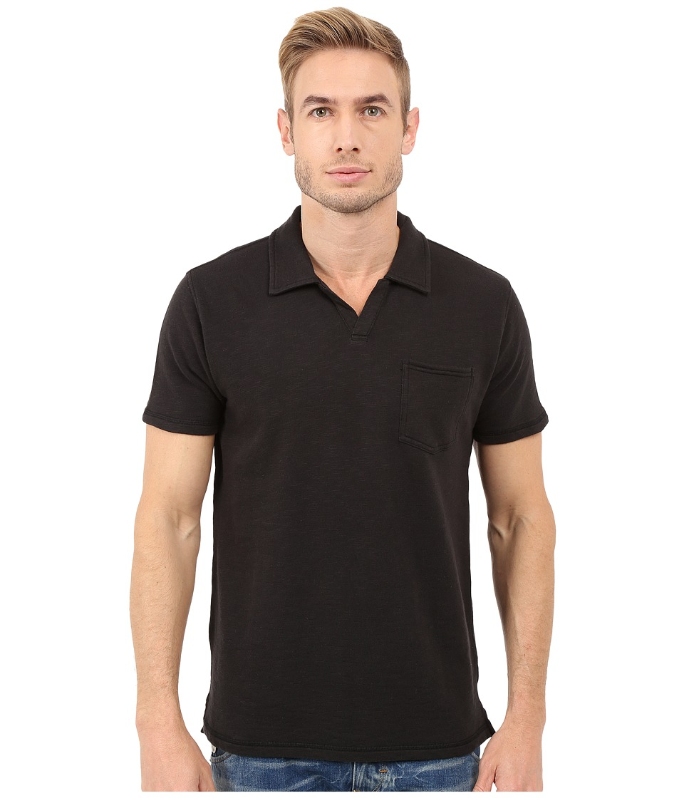 Lucky Brand - Palm Springs Polo (Black Mountain) Men's Clothing