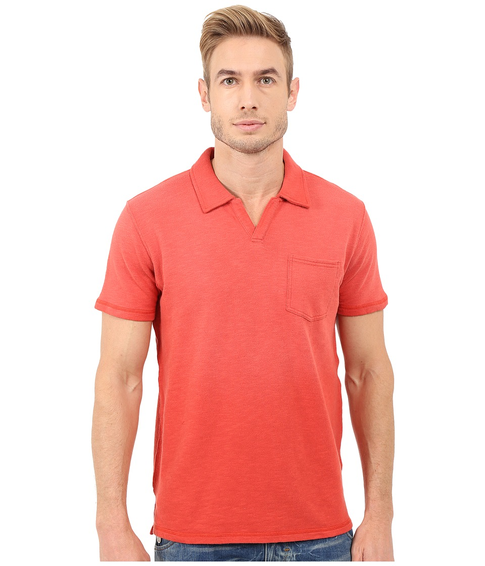 Lucky Brand - Palm Springs Polo (Rococcoo Red) Men's Clothing