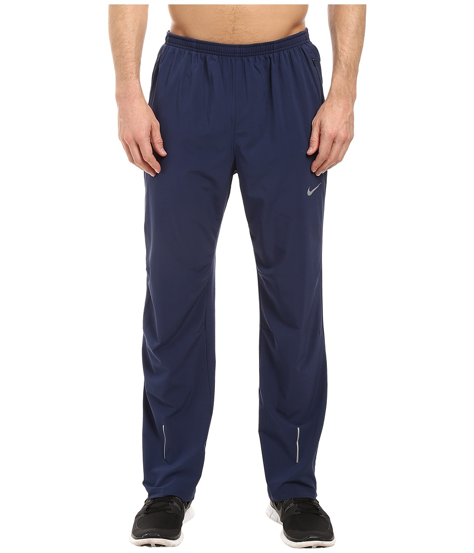 Nike - Flex Running Pant (Midnight Navy/Reflective Silver) Men's Workout