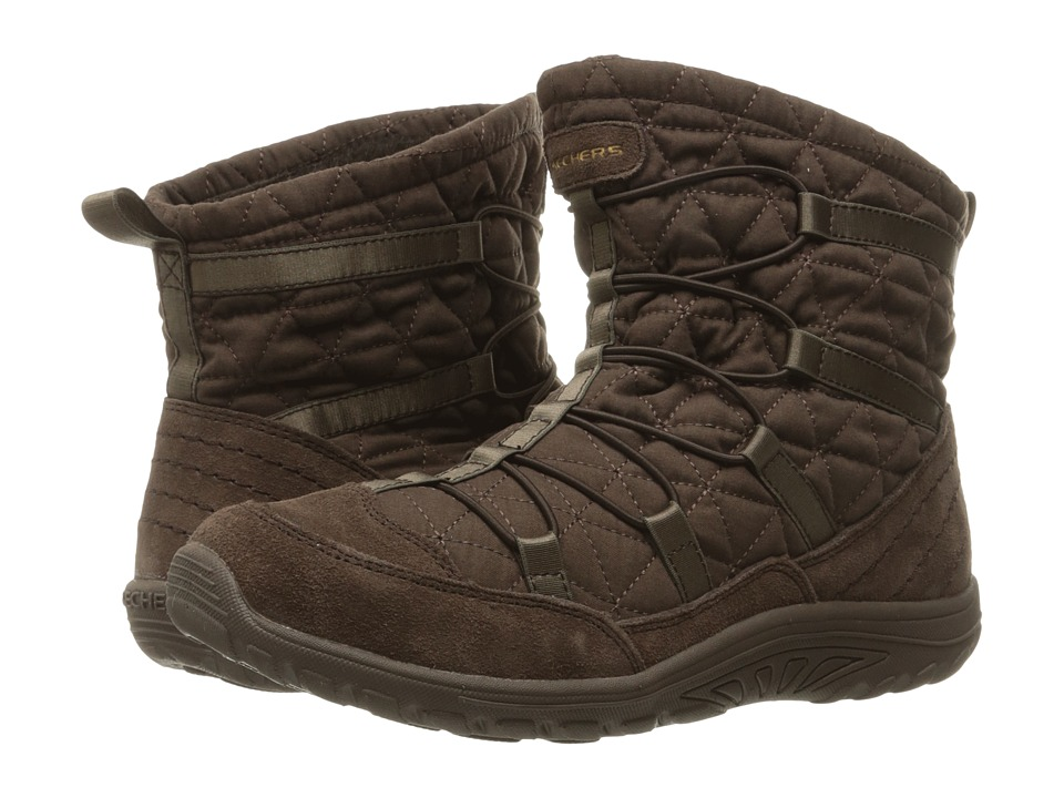 SKECHERS - Reggae Fest Steady (Chocolate) Women's Boots