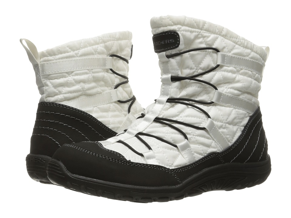 SKECHERS - Reggae Fest Steady (Black/White) Women's Boots
